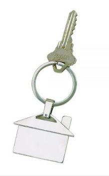 House Shaped Key Chain