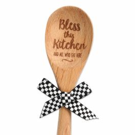Bless This Kitchen Sentiment Spoon