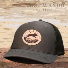 Boykin Hat - Charcoal & Black