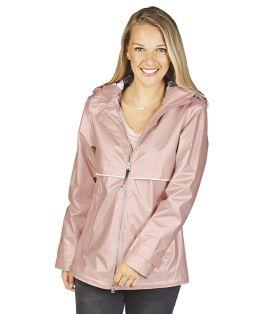 Rose Gold New Englander Rain Jacket
