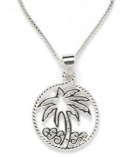Southern Gates Palm Tree Necklace