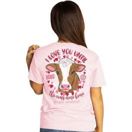Simply Southern Cows Come Home Short Sleeve T-Shirt
