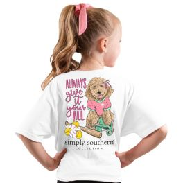 Simply Southern Ball Short Sleeve T-Shirt - YOUTH