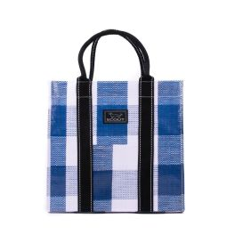 Scout Totes-Ma-Goat Tote - Navy Check