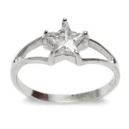 Sterling Silver Baby Star Ring