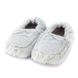 Warmies Marshmallow Slippers - Gray