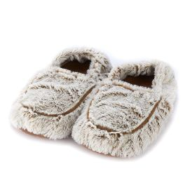 Warmies Marshmallow Slippers - Brown