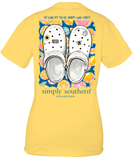 Simply Southern Clogs T-Shirt - YOUTH