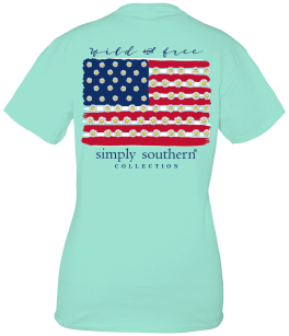 Simply Southern Wild And Free T-Shirt - YOUTH