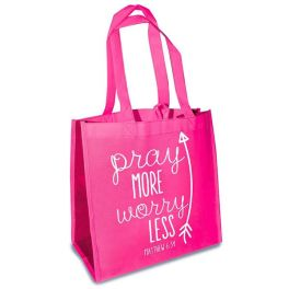 Eco Tote - Pray More Worry Less