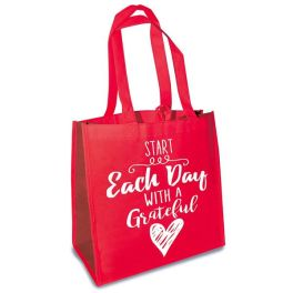 Eco Tote - Start Each Day With A Grateful Heart