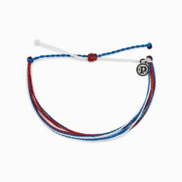Puravida Red White & Blue Bracelet