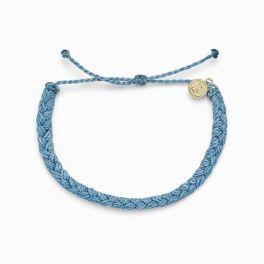 Puravida Sky Blue Braided Bracelet