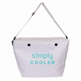 Simply Southern Simply Tote Large Cooler - White