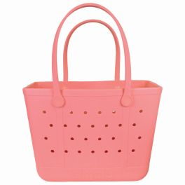 Simply Southern Large Simply Tote - Coral