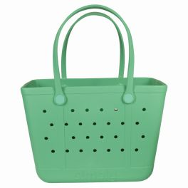 Simply Southern Large Simply Tote - Mint Green