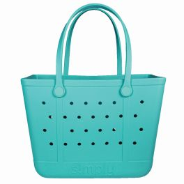 Simply Southern Large Simply Tote - Seafoam