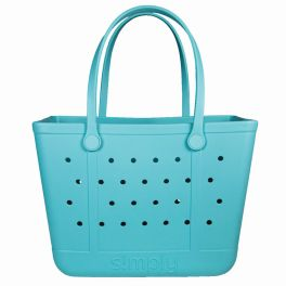 Simply Southern Large Simply Tote - Sky Blue