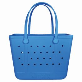 Simply Southern Large Simply Tote - Sapphire Blue