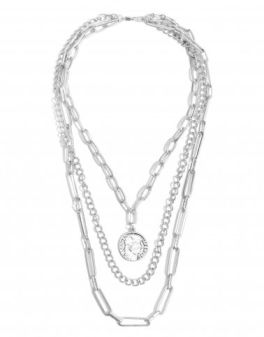 Playing Along Necklace - Silver