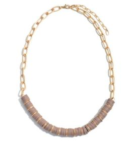 Not Letting Go Necklace - Natural