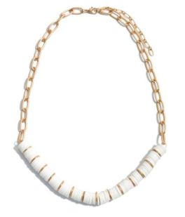 Not Letting Go Necklace - White