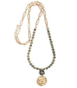 Sharing Secrets Necklace - Dalmation