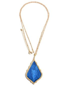 In My Moment Necklace - Royal Blue