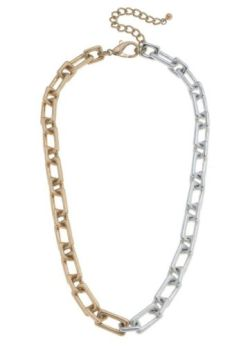 Linked To You Necklace - Gold/Silver