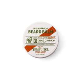 Big Bourbon Beard Balm Made with Buffalo Trace Burbon