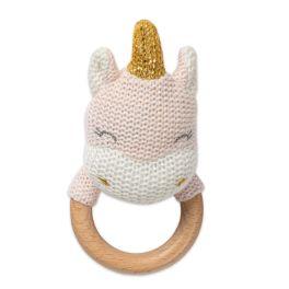 Unicorn Shaped Teething Rattle