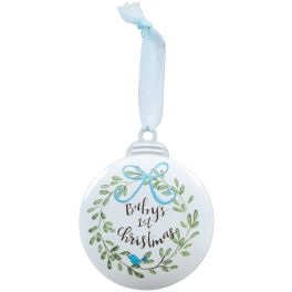 Baby's 1st Ornament - Blue