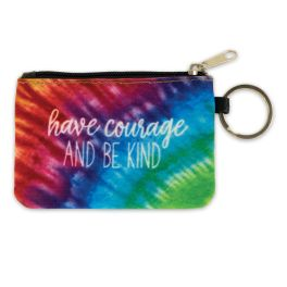 Have Courage & Be Kind ID Wallet Keychain