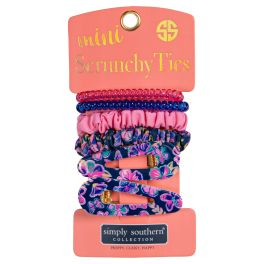Simply Southern Mini Scrunchie Ties - Butterfly