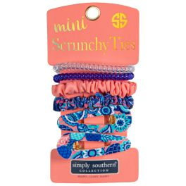 Simply Southern Mini Scrunchie Ties - Paisley