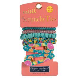 Simply Southern Mini Scrunchie Ties - Zest