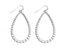 Seeing Clearly Earrings - Silver