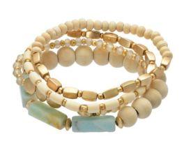 Arm Candy Bracelet - Natural/Mint