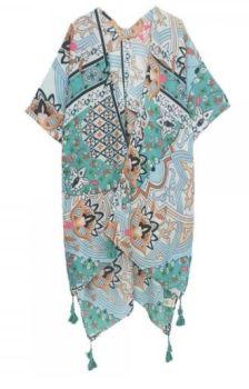 Shabby Chic Kimono - Mint