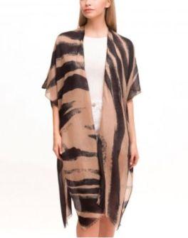By Design Kimono - Mocha/Black