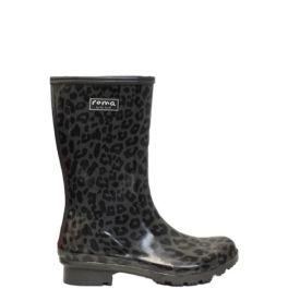 Roma Emma Mid Leopard Women's Rain Boots
