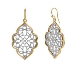 Couldn't Be Better Earrings - Gold/Silver