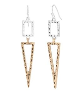 Got Their Attention Earrings - Silver/Gold