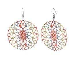 Let Love In Earrings - Paisley