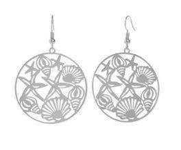 Beach Dreamer Earrings - Silver