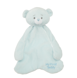 My First Teddy Pacifier Cozie - Blue