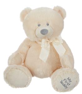 """My First Teddy - Cream - 19"""""""