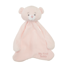My First Teddy Pacifier Cozie - Pink