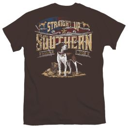 Straight Up Southern Dog & Boots T-Shirt