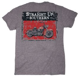 Straight Up Southern Vintage Motorcycle T-Shirt